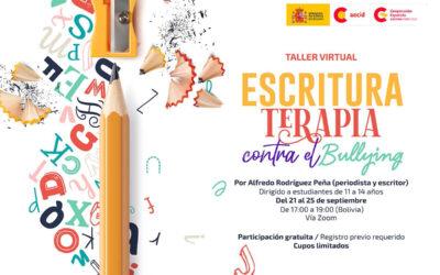 ESCRITURA TERAPIA CONTRA EL BULLYING